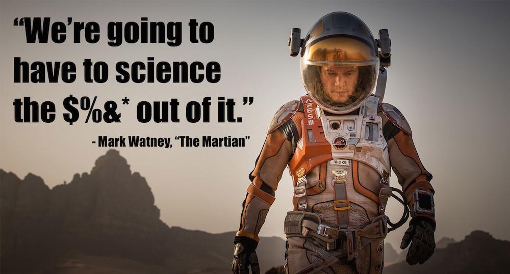 Martian science quote 1000