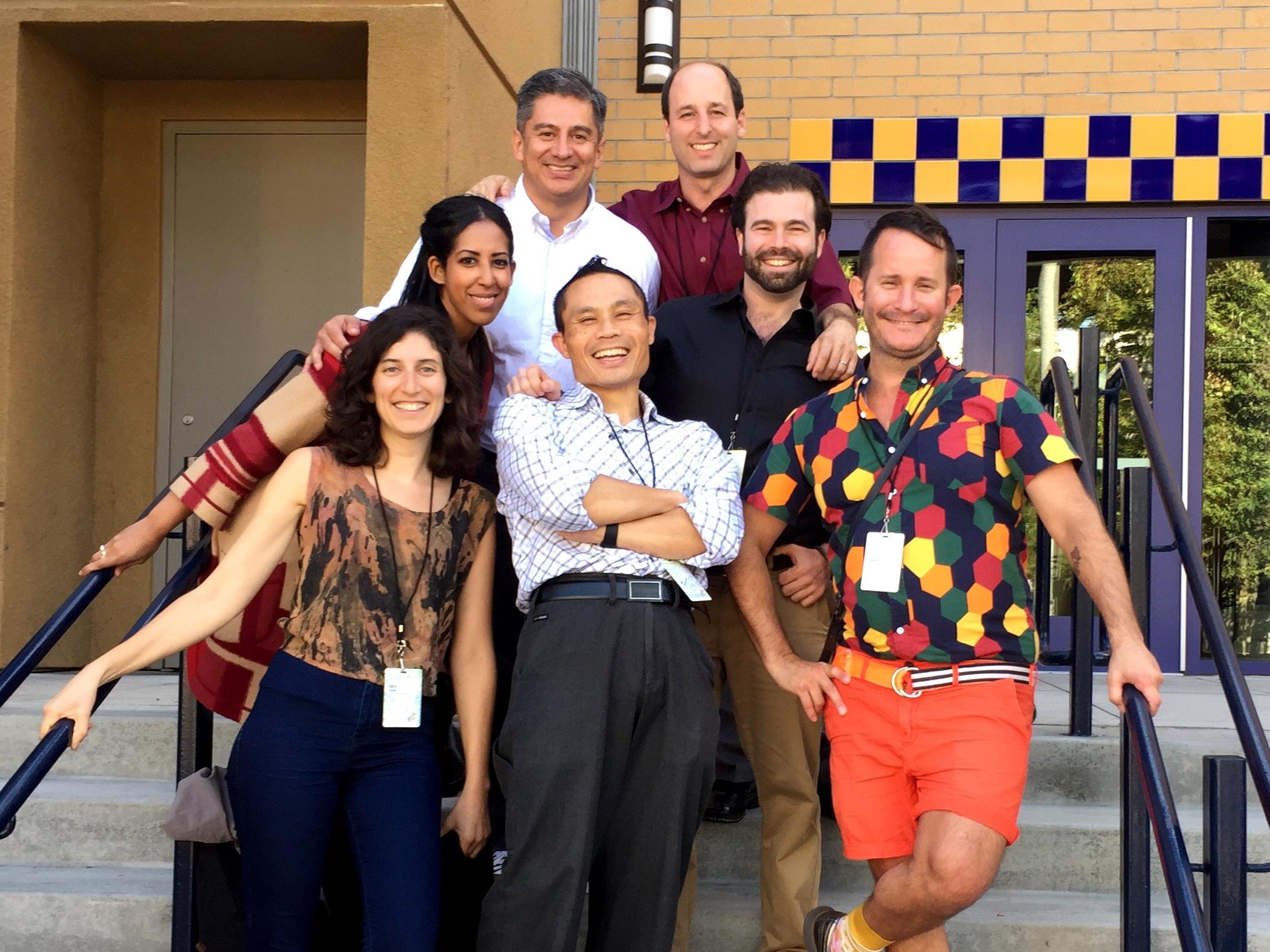 GK leaders Barry, Rafi, Juan, Sara, Ariam, Jack and Rik
