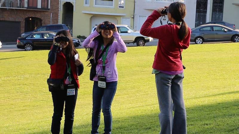 SAC Presidio_GirlsObservingBirds