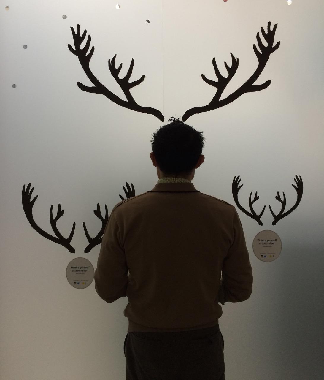 Reindeerselfie 2015
