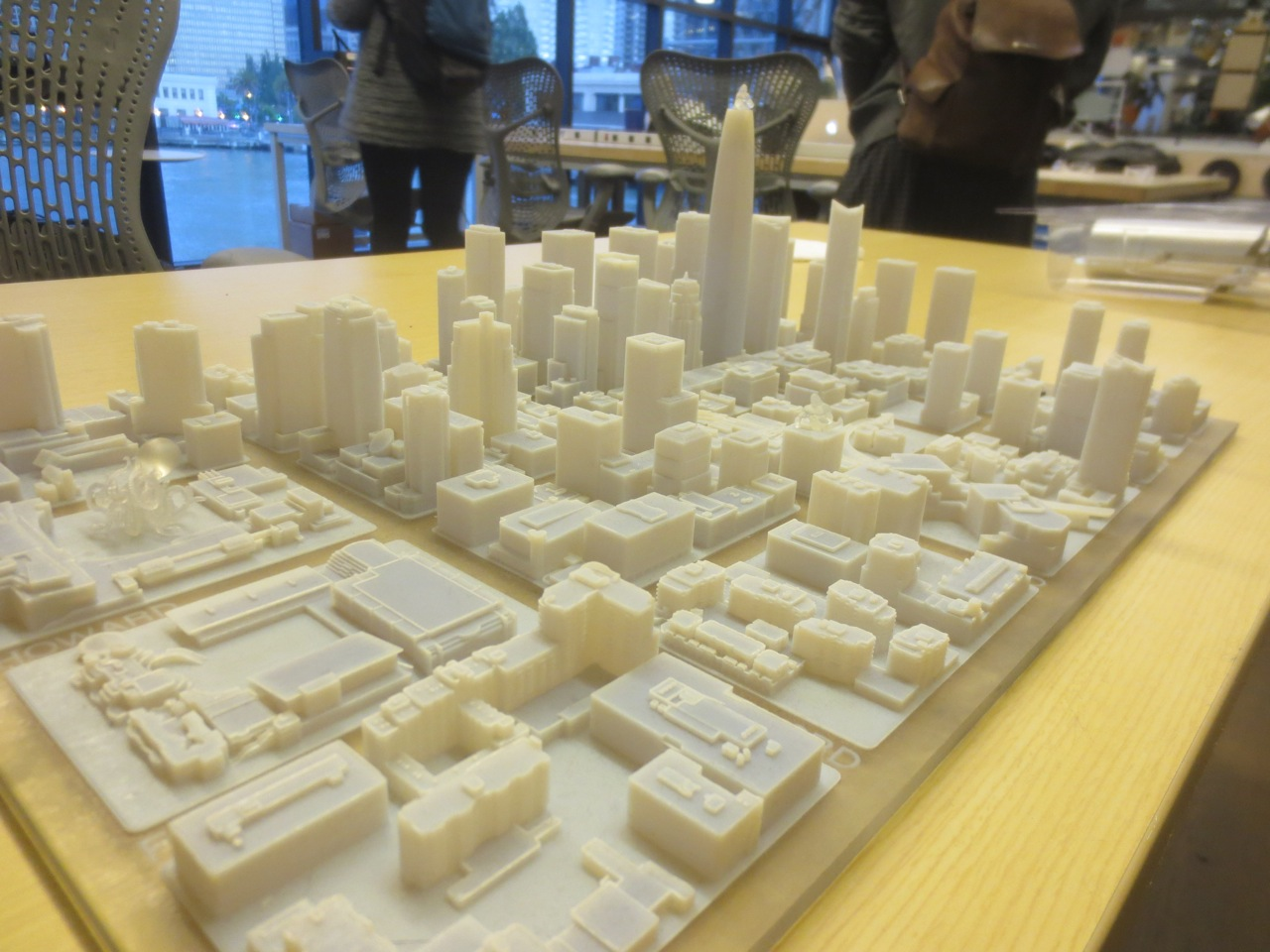 3d model of downtown sf