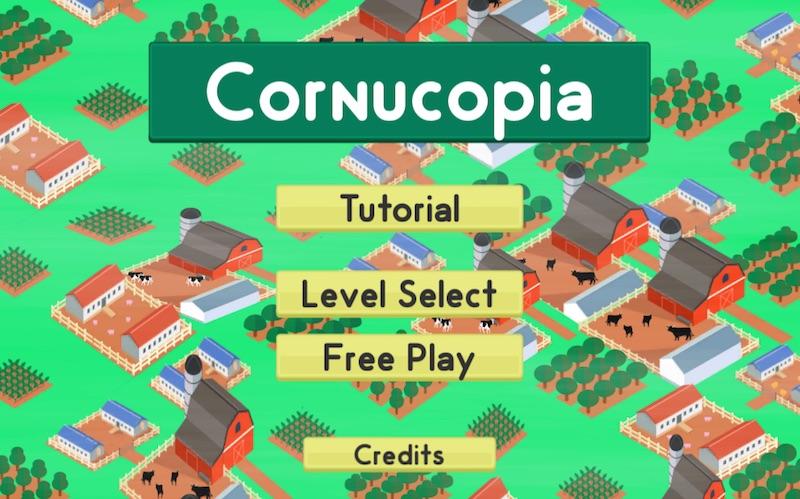 Cornucopia front screen 0216