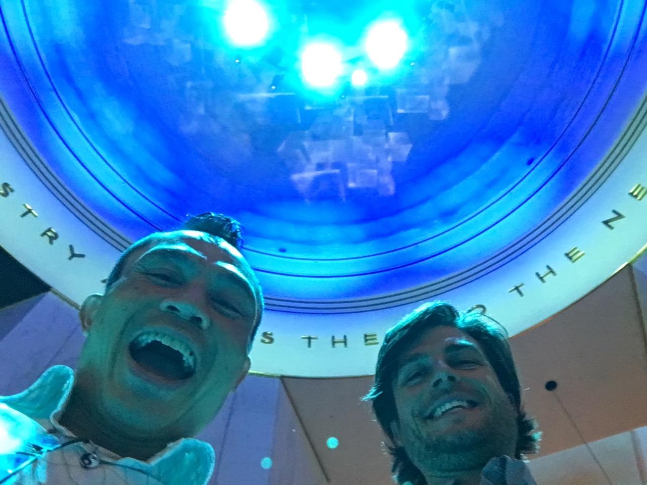 Andrew and rik at MSI