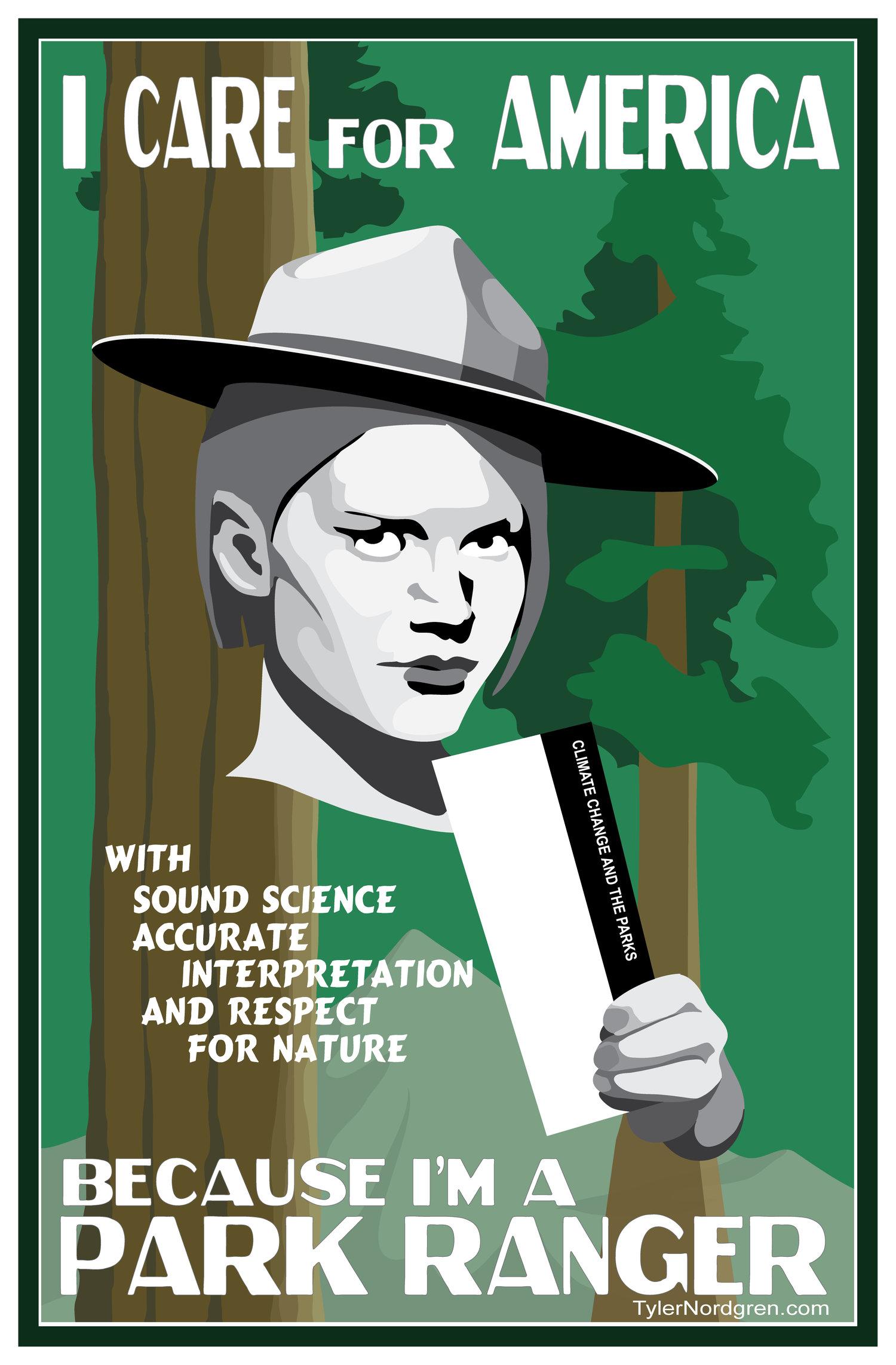 Park ranger poster