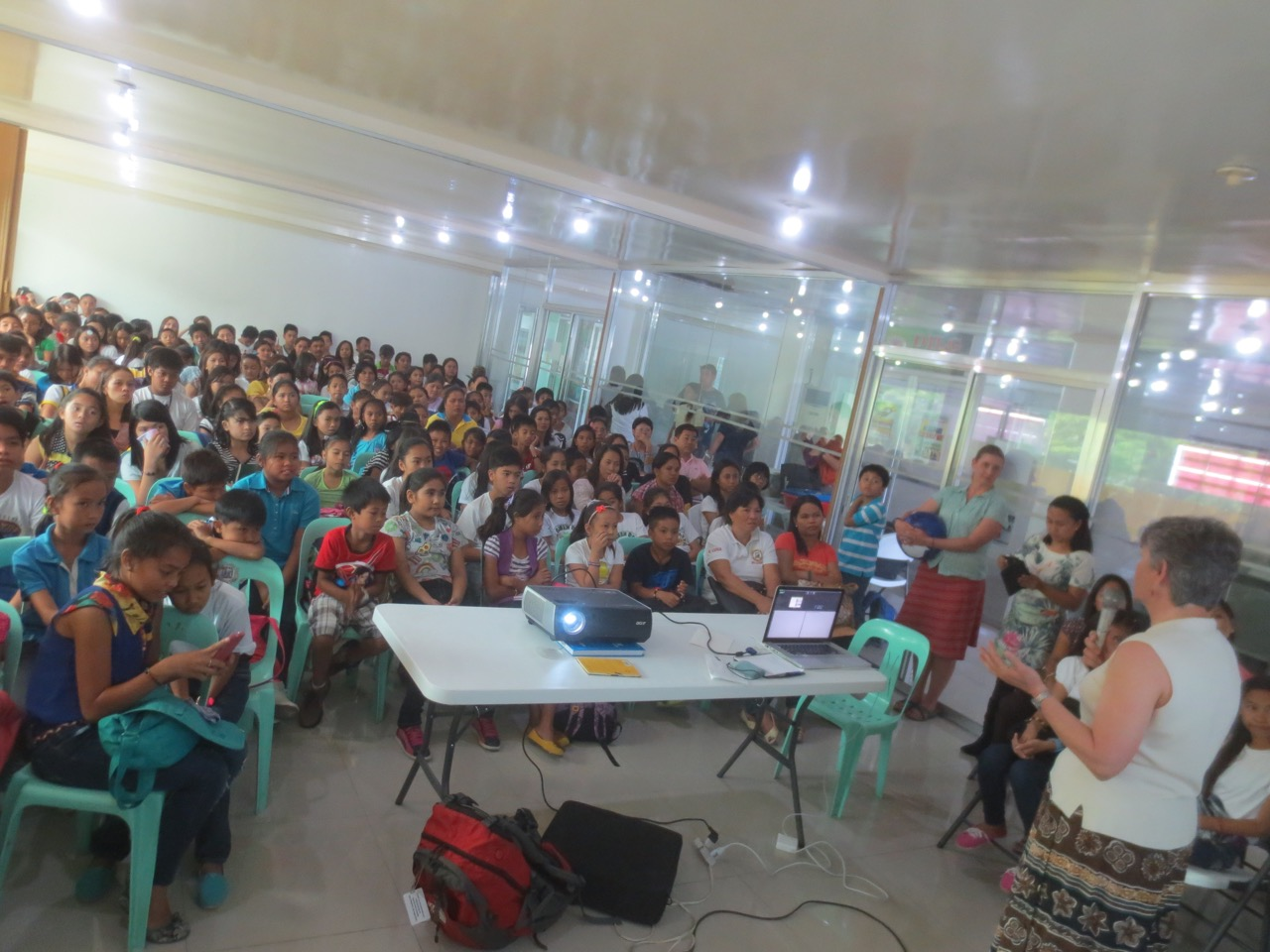 Batangas City outreach Meg